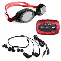 Swimbuds Headphones with SYRYN waterproof MP3 player