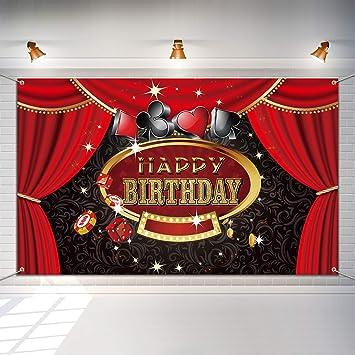Amazon.com: Las Vegas Casino fiesta de cumpleaños Photo ...