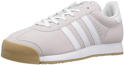 9ba2fdad adidas Originals Women's Samoa W Running Shoe, Ice Purple  White/Metallic/Silver,