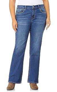 ec46c6b17a7 Amazon.com  WallFlower Women s Plus-Size Embellished Pocket Luscious ...