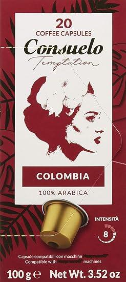 Consuelo - Cápsulas de café compatibles con cafetera Nespresso ...