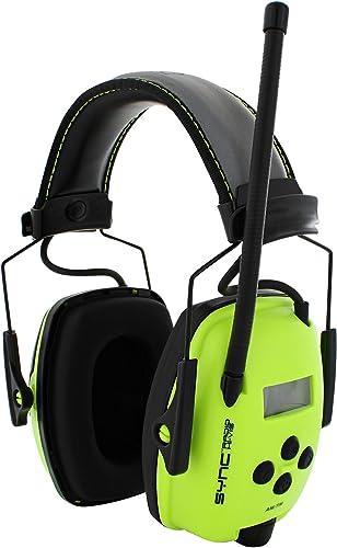 Honeywell Howard Leight Digital AM/FM Radio Headphones