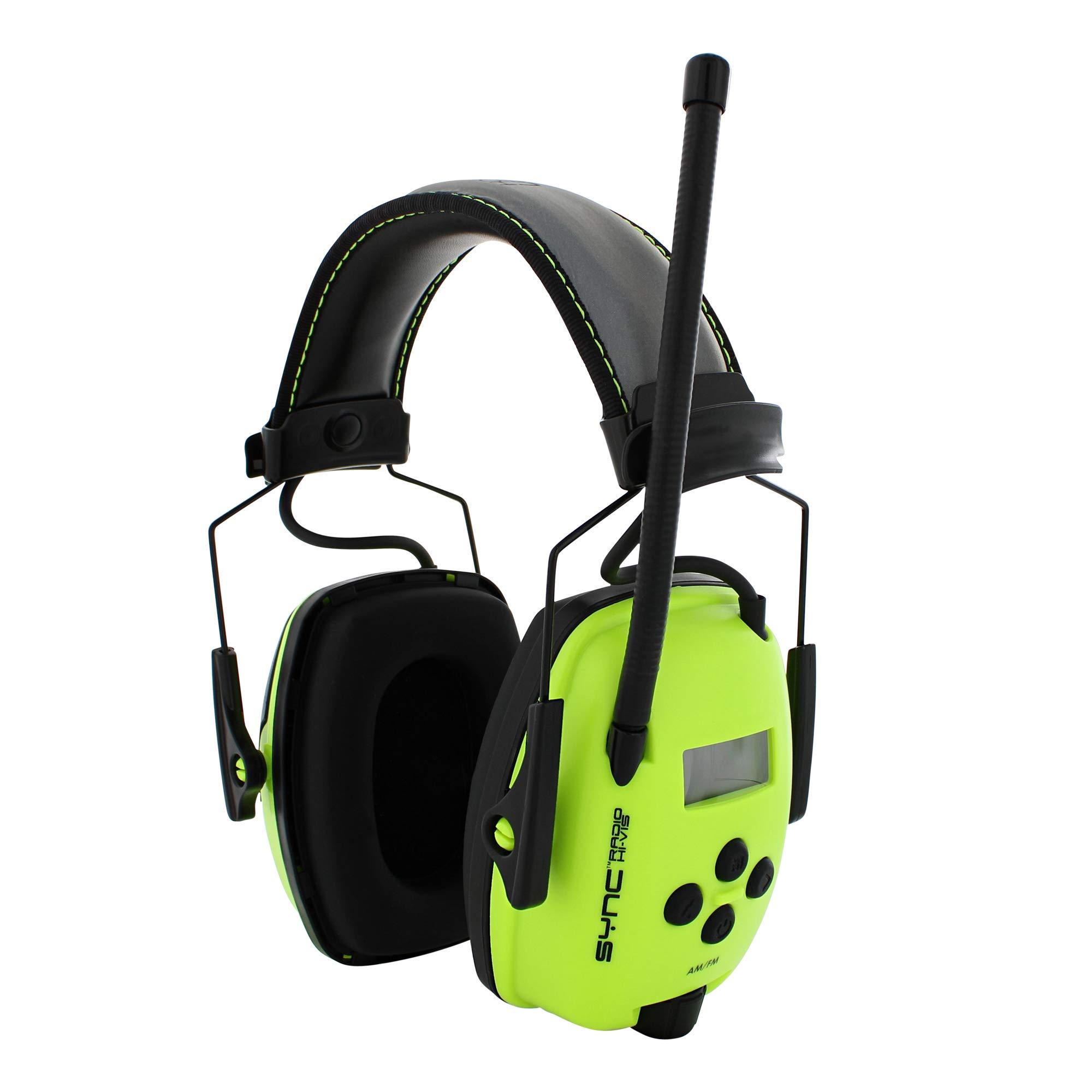 Howard Leight by Honeywell Sync Hi-Visibility Digital AM/FM Radio Earmuff (1030390) by Honeywell