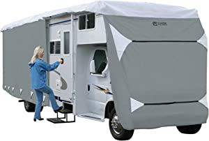 Classic Accessories Over Drive PolyPRO3 Deluxe Class C RV Cover, Fits 20' - 23' RVs, Model 2 (79263)