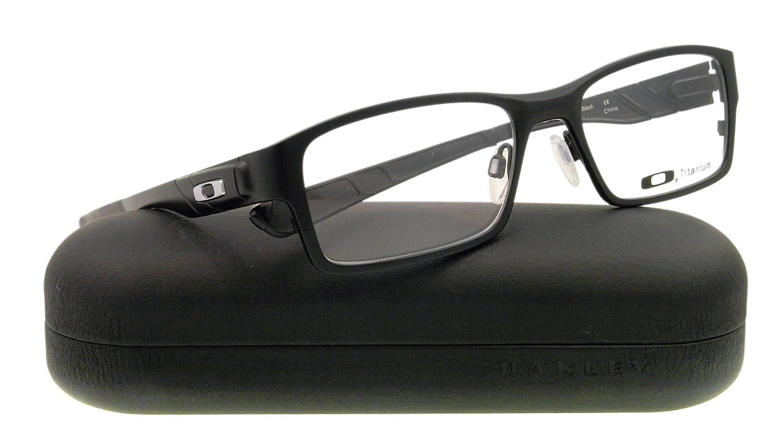 8b4b80b8ba OAKLEY Eyeglasses GASSER OX5087-0153 Black 53MM  Amazon.co.uk  Clothing