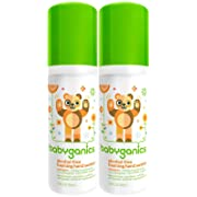 Babyganics Alcohol-Free Foaming Hand Sanitizer - Mandarin - 1.69 oz - 2 pk
