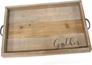Stratton Home Decor Gather Wood Tray