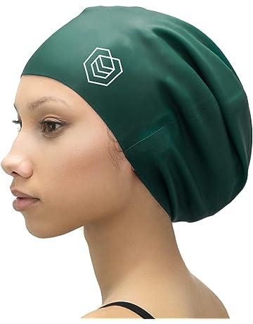 241c8ed16016 SOUL CAP XL - Bonnet de Bain Très Grand Bonnet de Douche   Conçu pour