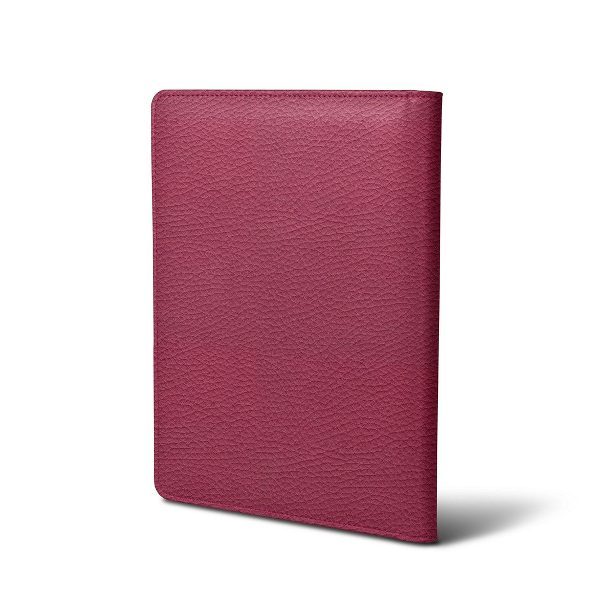 Lucrin - A5 document wallet - Fuchsia - Granulated Leather by Lucrin (Image #4)
