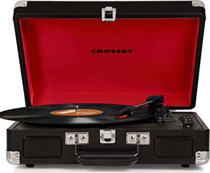 NEW Crosley Turntable Cruiser Red or Blue 3 speed Record Vinyl Player