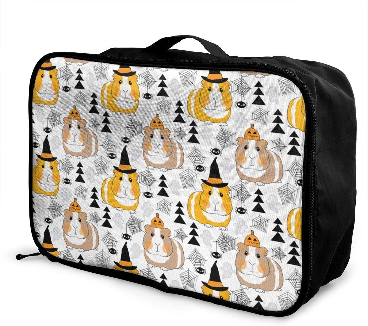 Rainbow Gamer Travel Carry-on Luggage Weekender Bag Overnight Tote Flight Duffel In Trolley Handle
