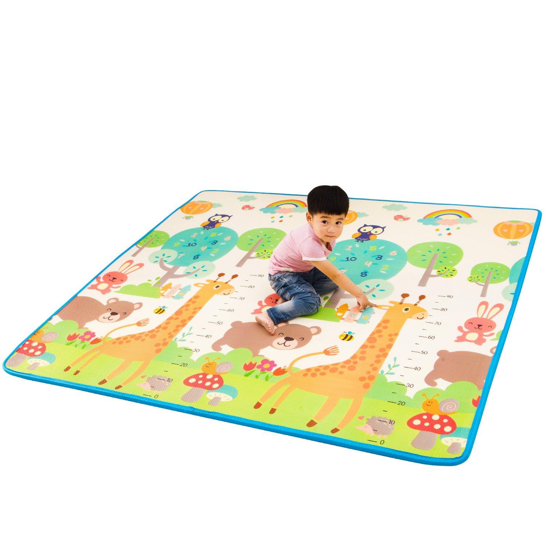 Amazon com : Infant Shining Baby Play Mat Floor XPE Foam
