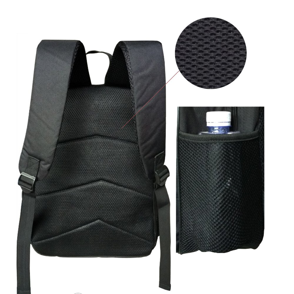Mochila bolsas, Gim moda mochila de viaje Camping Casual mochila impresión de calavera mochila escolar mochila Back Pack