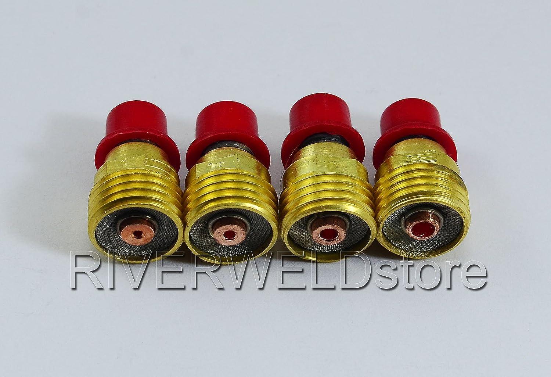 TIG Gaz Lentille Kit Pour PTA DB SR WP 9 20 S/érie Soudage TIG Torches 12pcs