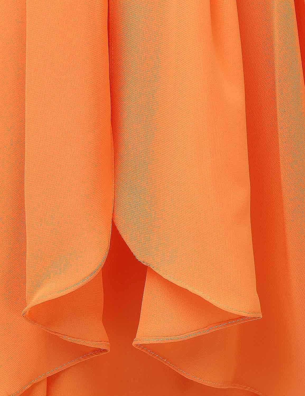 Clearbridal Femme Courte en Mousseline de Soie Prom Robes de f/ête Robe de Demoiselle dhonneur Csd247