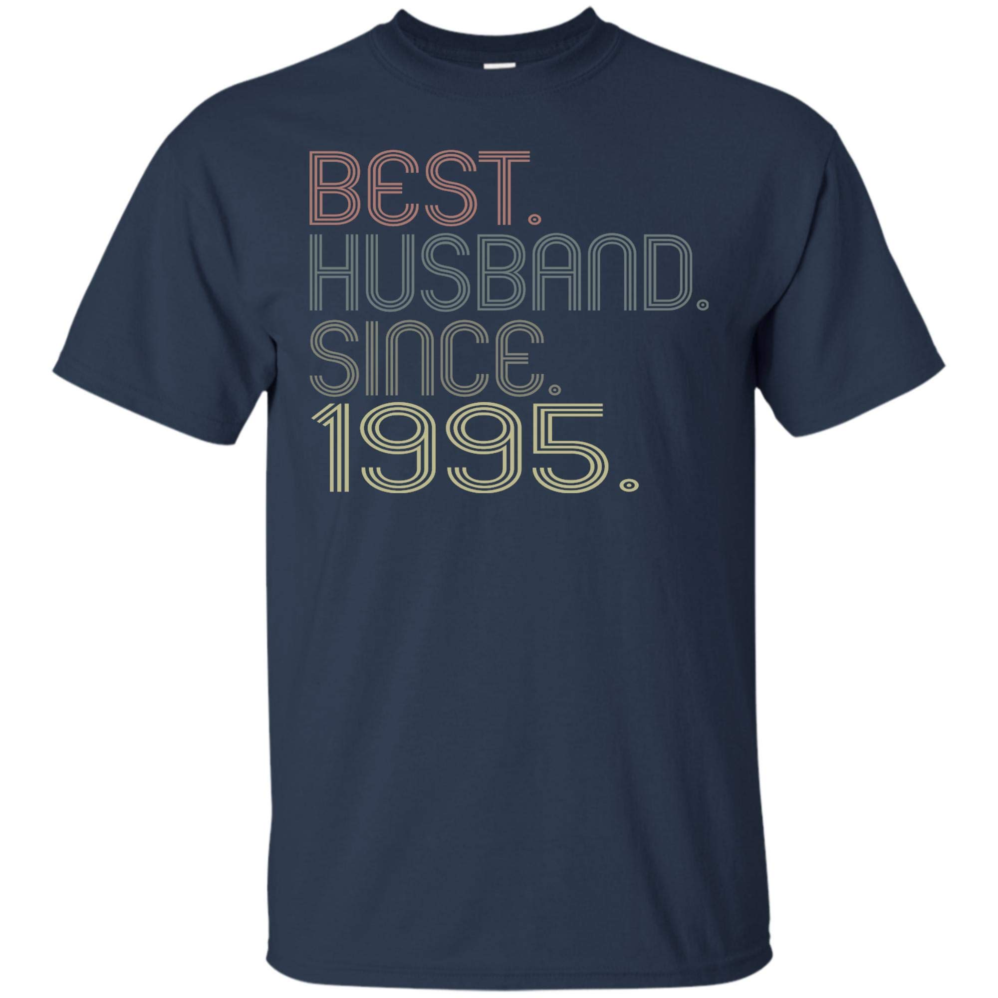 Best Husband Since 1995 T Shirt Best Gift For Husband Father 1836