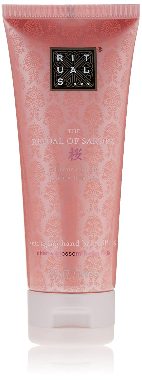 702fe67ae295 RITUALS The Ritual of Sakura Hand Balm SPF 15 70 ml: Amazon.co.uk: Luxury  Beauty