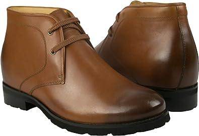 Zerimar Botas de Hombre con Alzas Que Aumentan su Altura + 7,5 cm ...