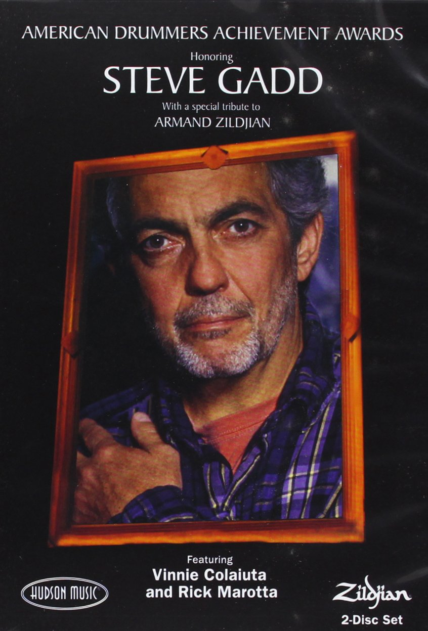 American Drummers Achievement Awards Honoring Steve Gadd With A Special Tribute To Armand Zildjian by Hal Leonard Publishing