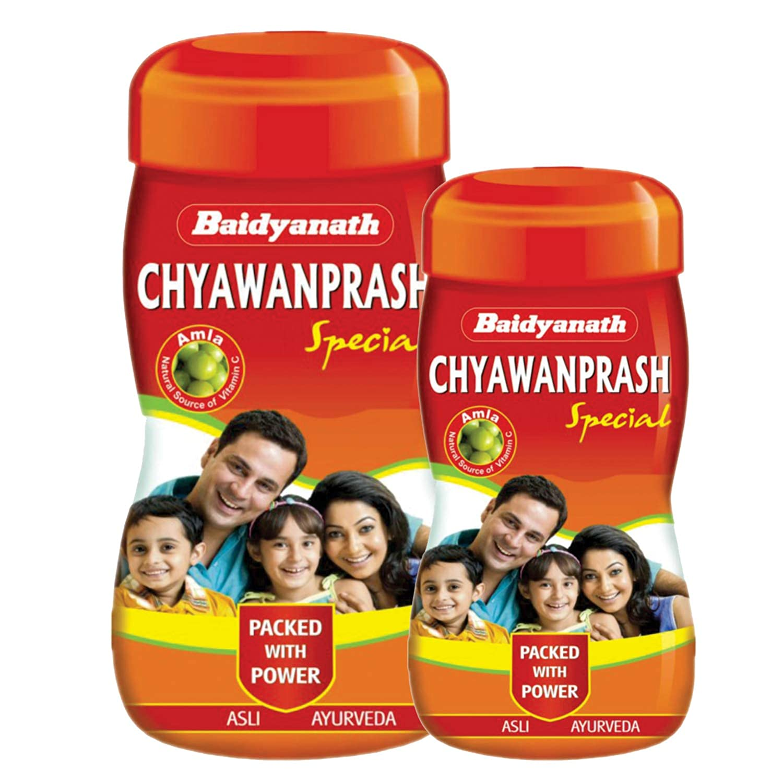 Baidyanath Chyawanprash Special Natural Immunity Booster (1.5 kg(Combo of 1 kg & 500 gm))