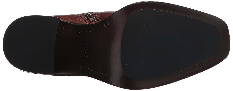 FRYE Women's Pia Short Chelsea Boot B06VSPVQFY 8.5 B(M) US|Brown Vintage Leather