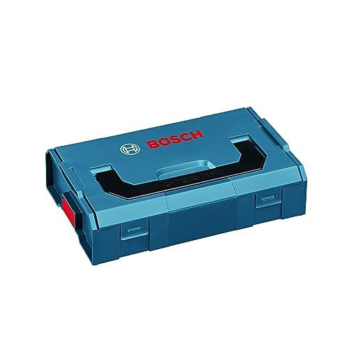 Bosch L-BOXX Mini Professional Polipropileno (PP) Negro, Azul - Cajas de herramientas (Polipropileno (PP), Negro, Azul, 260 mm, 155 mm, 63 mm, 300 g)