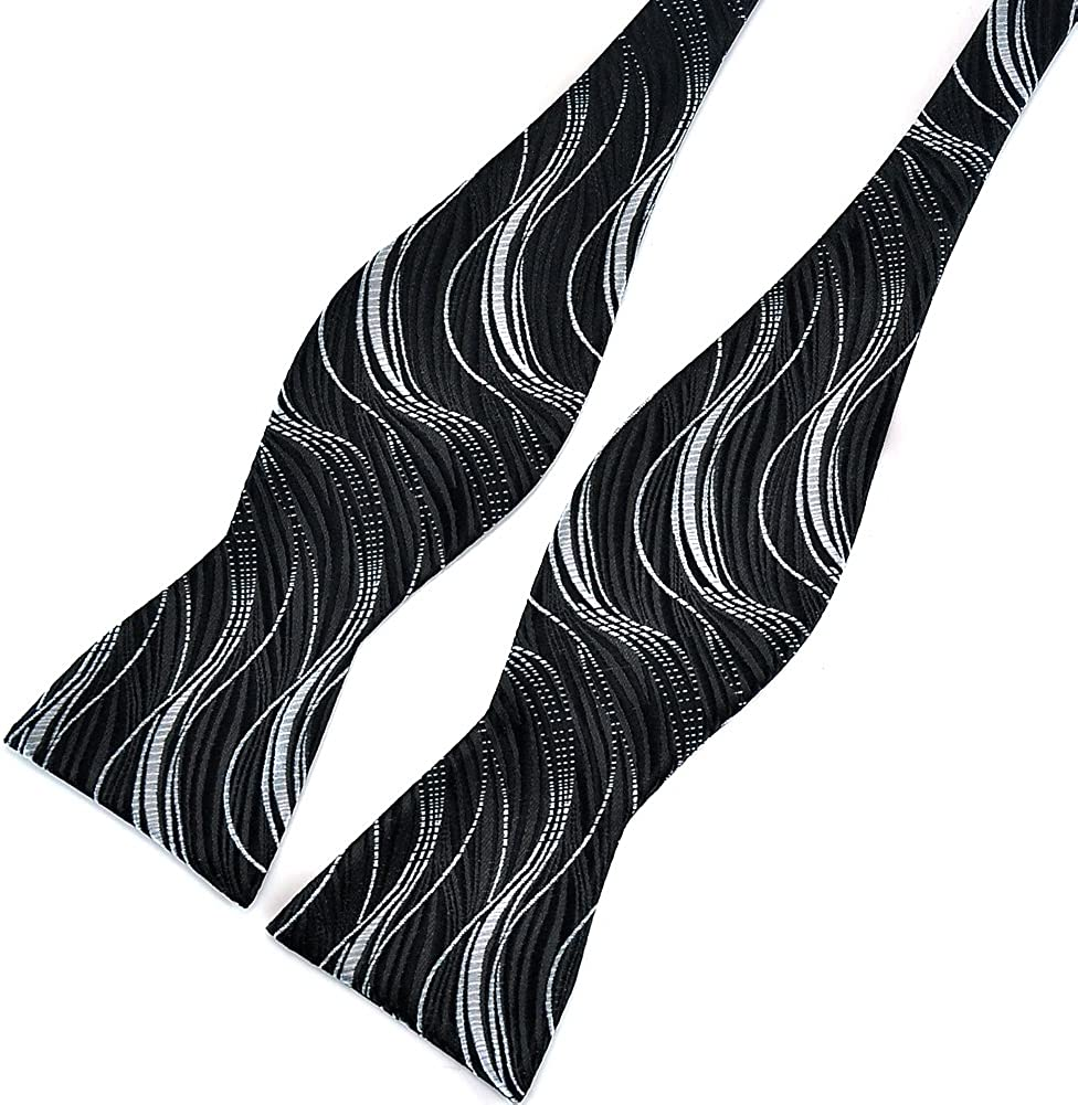 vari stili in seta Papillon da uomo geometrico Pensee stile moderno