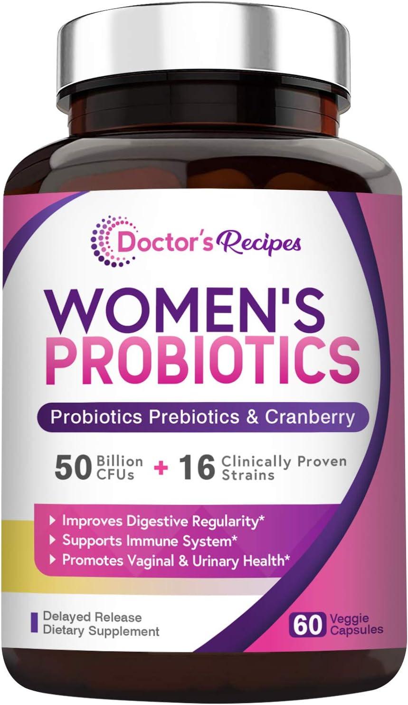 Doctor's Recipes 50 Billion CFU 16 Strains Women's Probiotic Coupon
