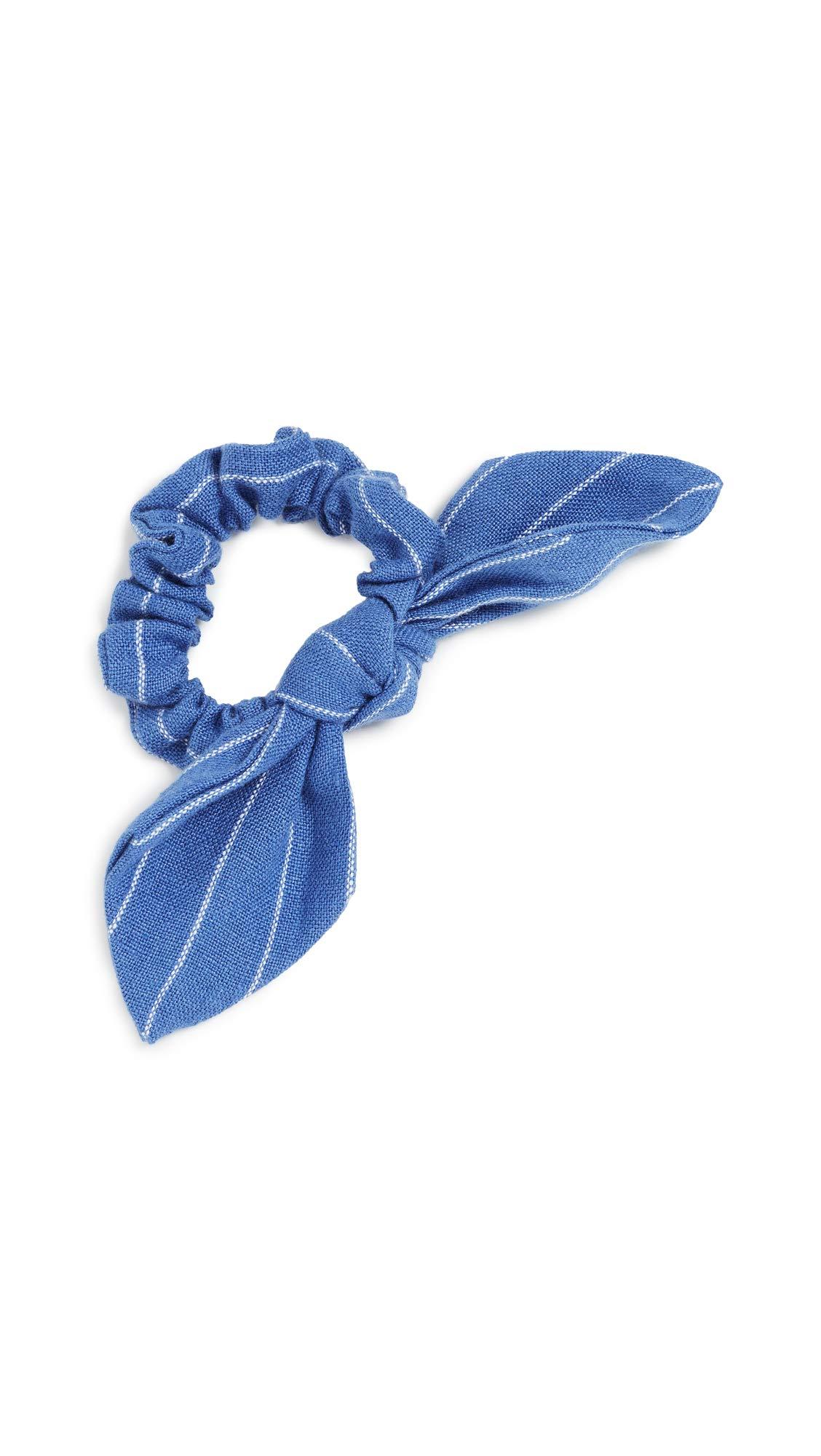 DANNIJO Women's Suffolk Scrunchie, Blue, One Size