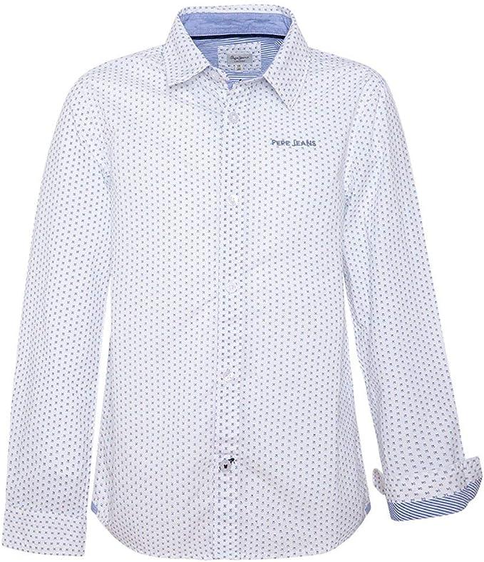 Pepe Jeans - Camisa Alex - Camisa Manga Larga NIÑO: Amazon.es: Ropa y accesorios