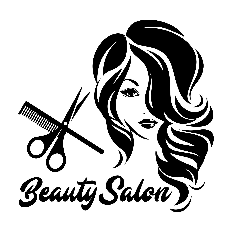 Wall Stickers Shoes Makeup Beauty Salon Girls Art Decals Vinyl Home Room Decor