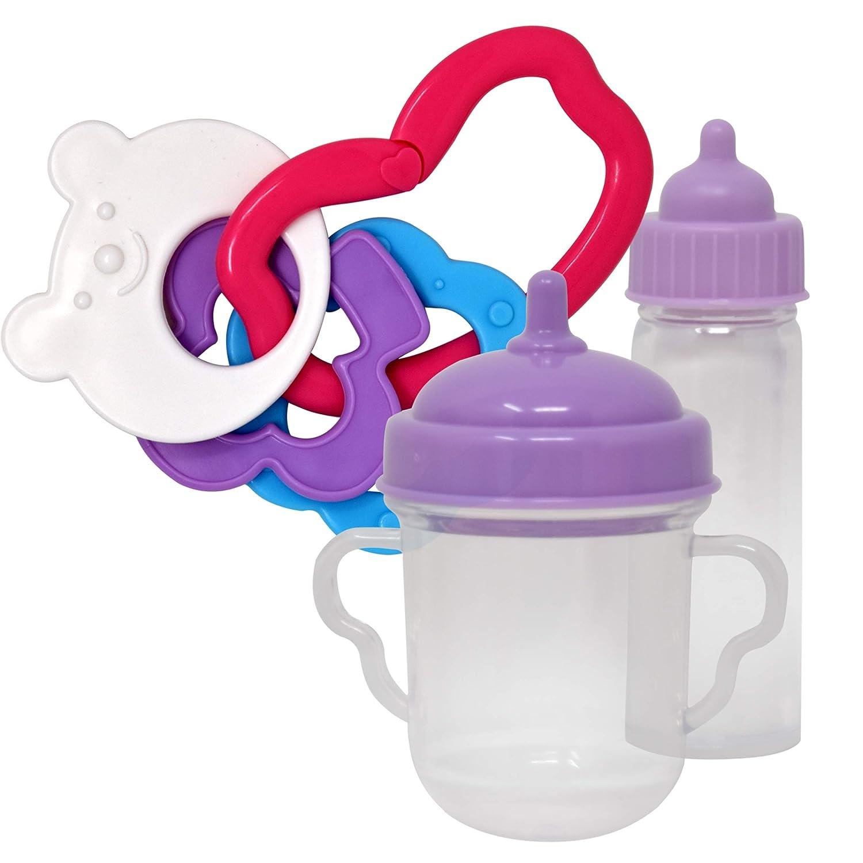 Amazon.com: Asiento de bebé para muñeca con accesorios para ...