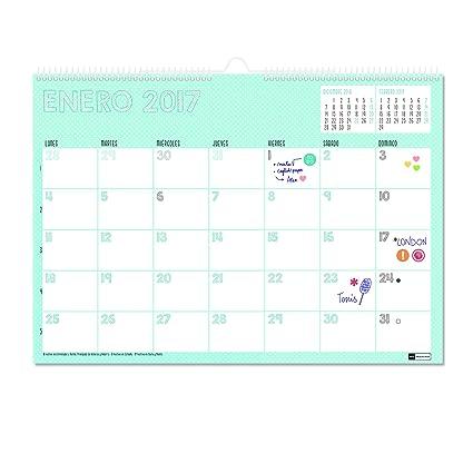 Miquelrius 28017 - Calendario de pared A3, lovely