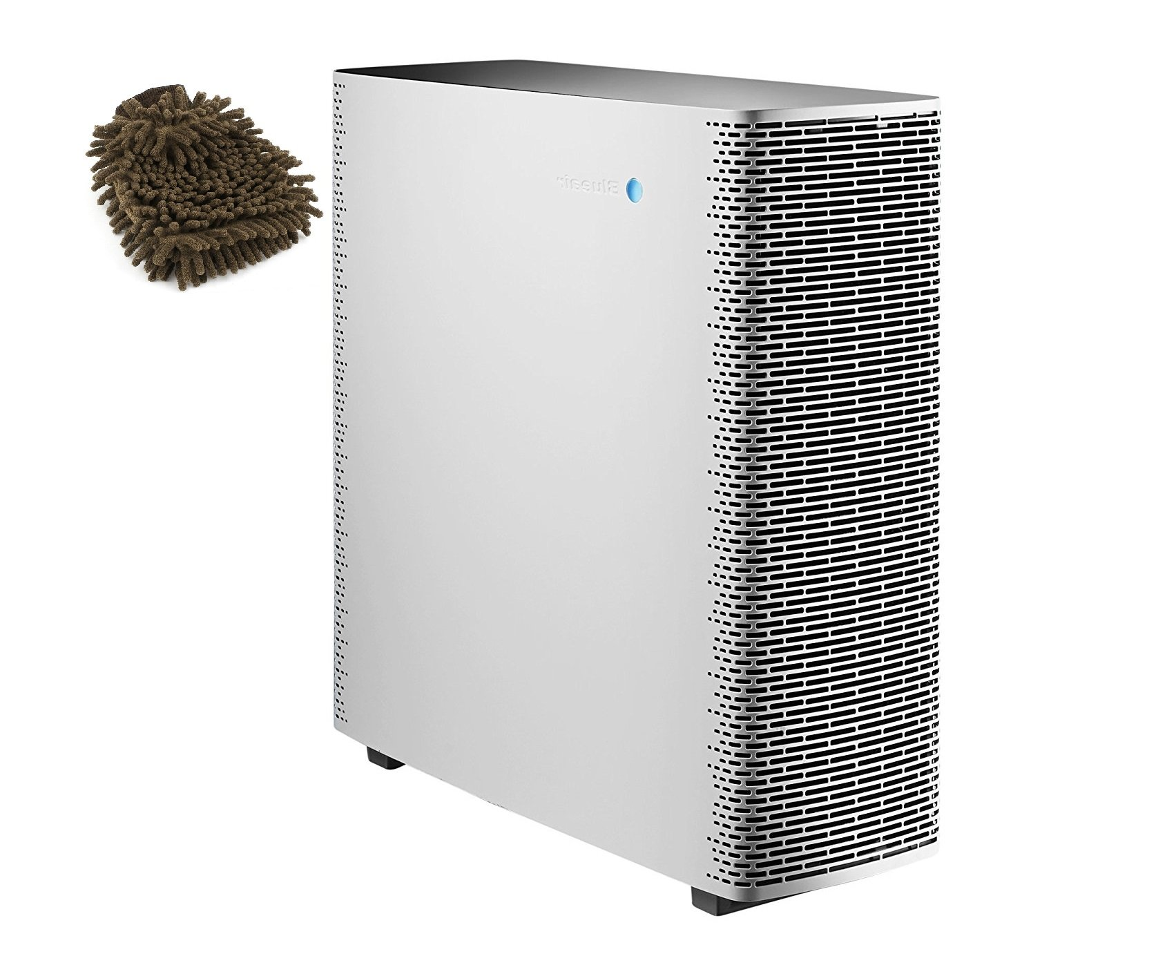 Sense+PW Blueair Air Purifier, Polar White (Complete Set) w/ Bonus: Premium Microfiber Cleaner Bundle by Blueair