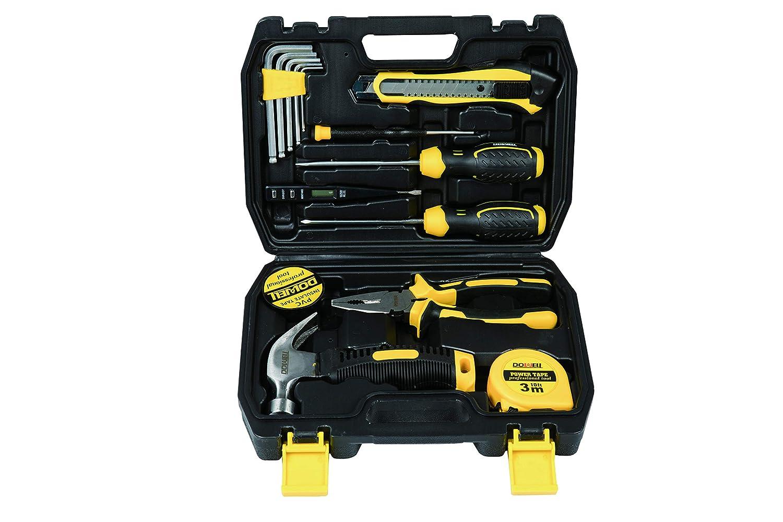 15-Piece Homeowner General Portable Repair Hand Tools Kit ...