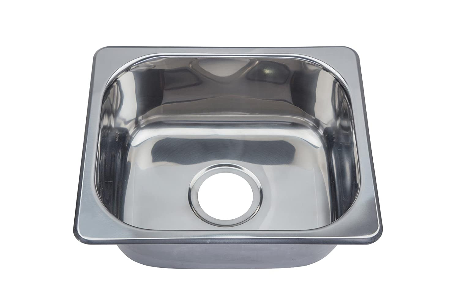 Hygenic Small Bowl TopMount Inset Stainless Steel Kitchen Sink (A11 ...
