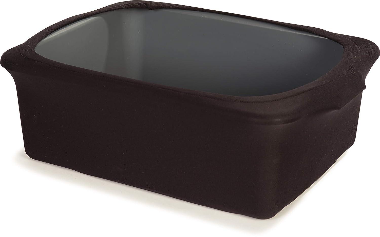 Carlisle EMB5026TB9D014 Embrace Tote Box Cover, Polyester, Black