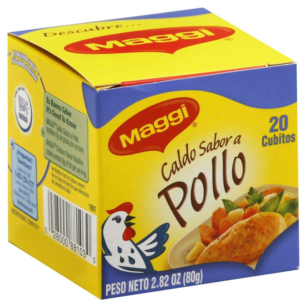 Maggi Chicken Bouillon Cube 2.82 OZ(Pack of 6) by Maggi