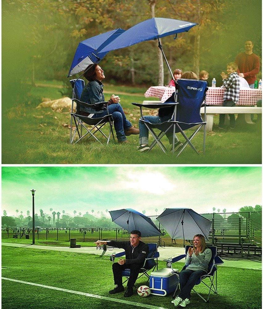 HOIHO Draagbare Vouwstoel en Paraplu Stoel, Verstelbare