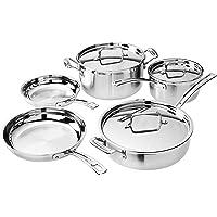 Cuisinart WMCS-8S2 8-Piece Multiclad Cookware Set