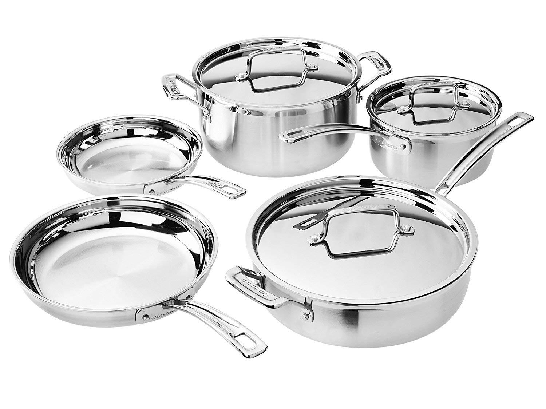 Cuisinart Multiclad Pro Cookware Set (8-Piece) by Cuisinart