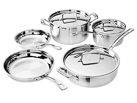 Cuisinart Multiclad Pro Cookware Set 8-Piece