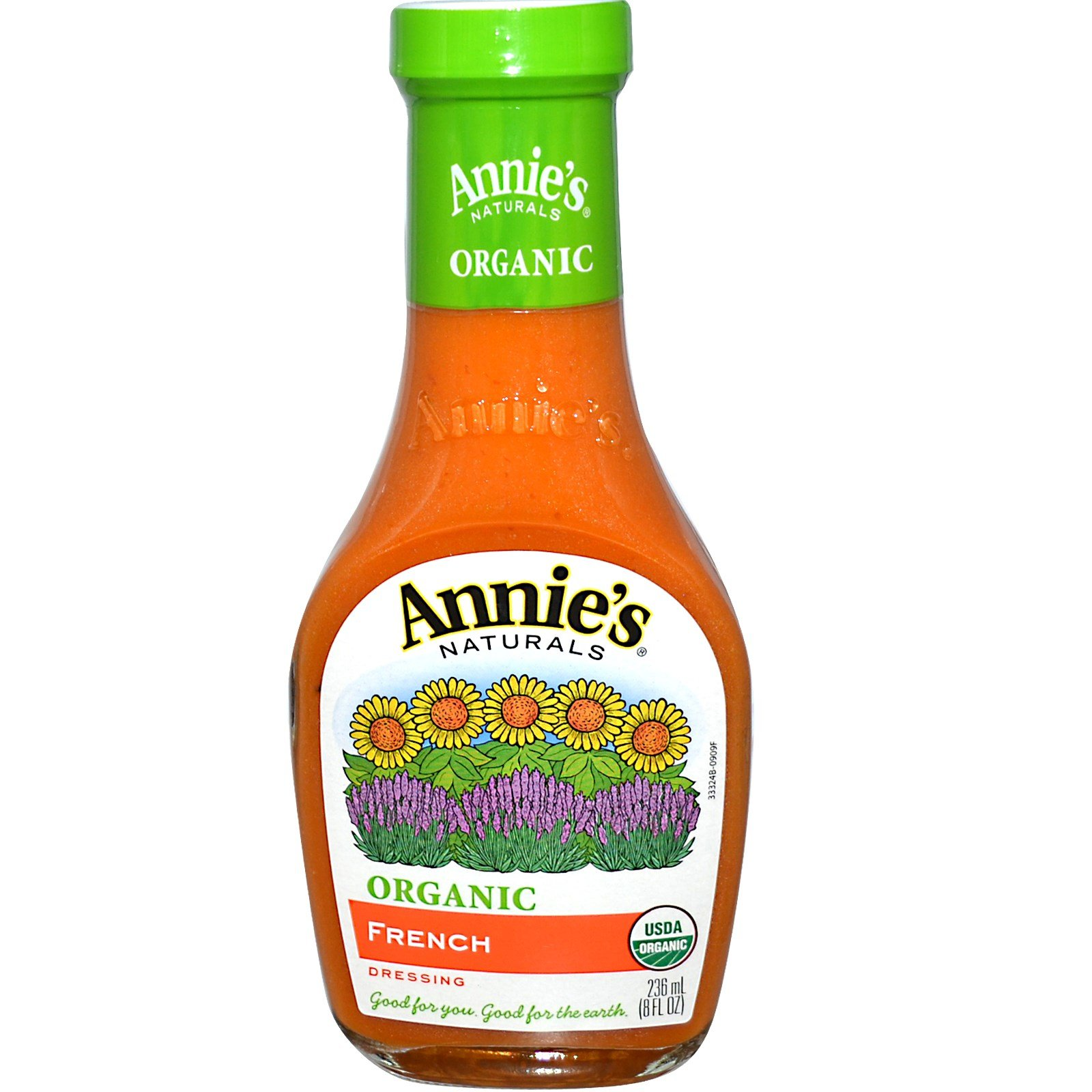 Annie's Naturals, Organic, French Dressing, 8 fl oz (236 ml) -- 2PC