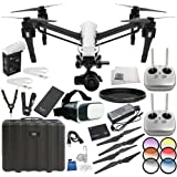 DJI CP.BX.000088 Inspire 1 Raw - Dual Remote w/Zenmuse X5R Micro Four Thirds Aerial Camera Virtual Reality Experience Starters Bundle
