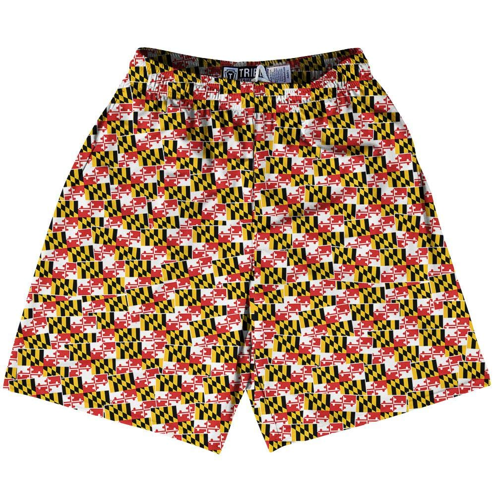 Tribe Maryland State Party Flags Lacrosse Shorts