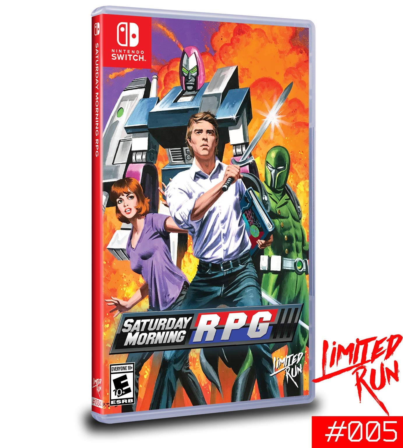 Amazon com: Saturday Morning RPG - Nintendo Switch (Limited Run