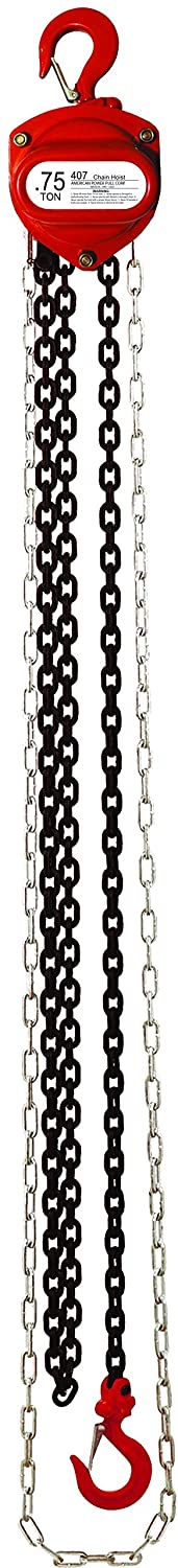Image of Chain & Rope Snaps American Power Pull 407-15 .75 Ton Chain Block with 15' Lift