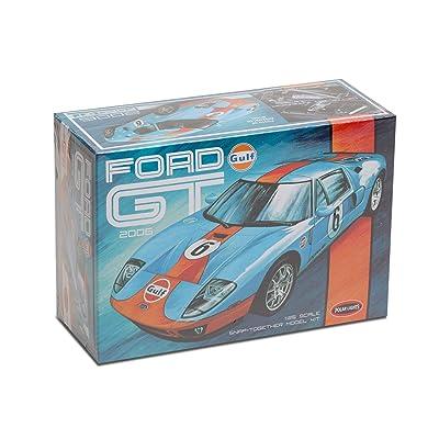 Polar Lights POL955 1:25 2006 Ford GT 'Gulf' -Snap Kit: Toys & Games