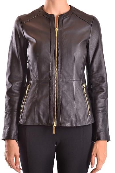 9d235a6be8 Michael Kors Giacca Outerwear Donna Mu62hj712f001 Pelle Nero: Amazon.it:  Abbigliamento