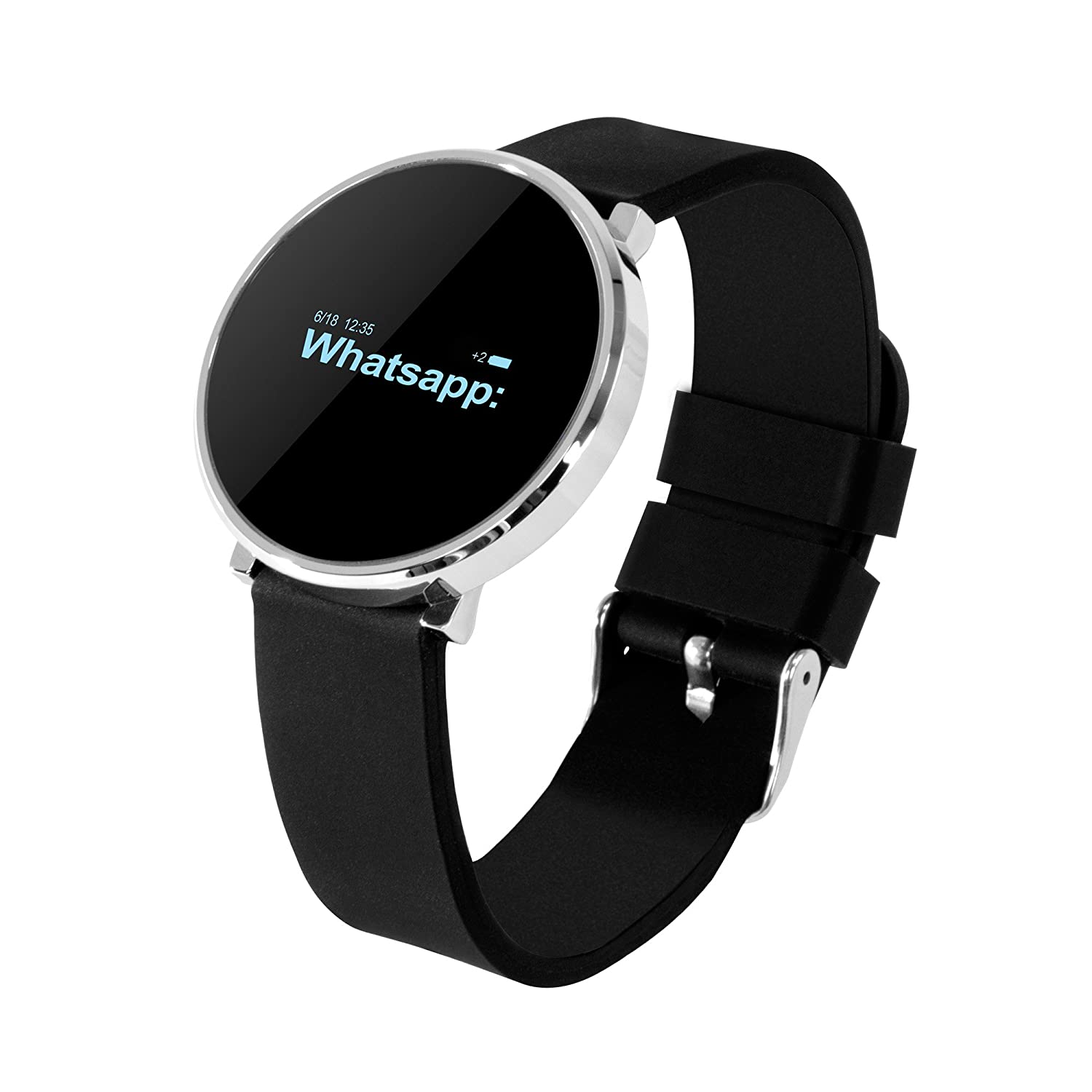 Ora ONYX - Smartwatch, color negro